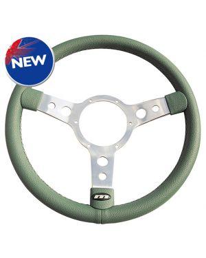 "14"" Traditional Green Vinyl Steering Wheel"