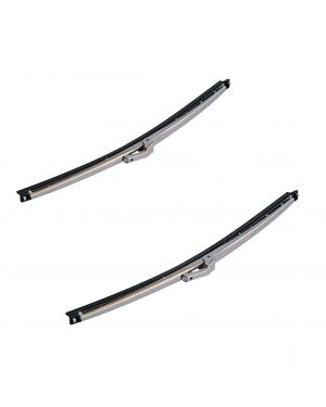 Mini Stainless Steel Wiper Blade 11 Inches Mountney Classics Left & Right Pair