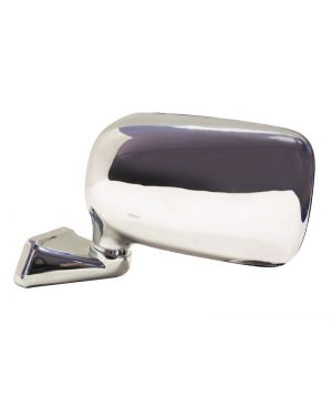 Chrome Domed Mirror Mountney with Austin Mini Door Mounting - Left (Drivers Side) CMFD