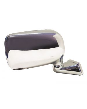 Chrome Domed Mirror Mountney with Austin Mini Door Mounting - Right (Passengers Side) CMFD